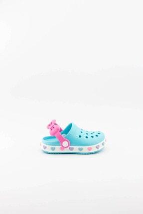 Akınal Bella Çocuk Yeşil Yazlık Sandalet Terlik