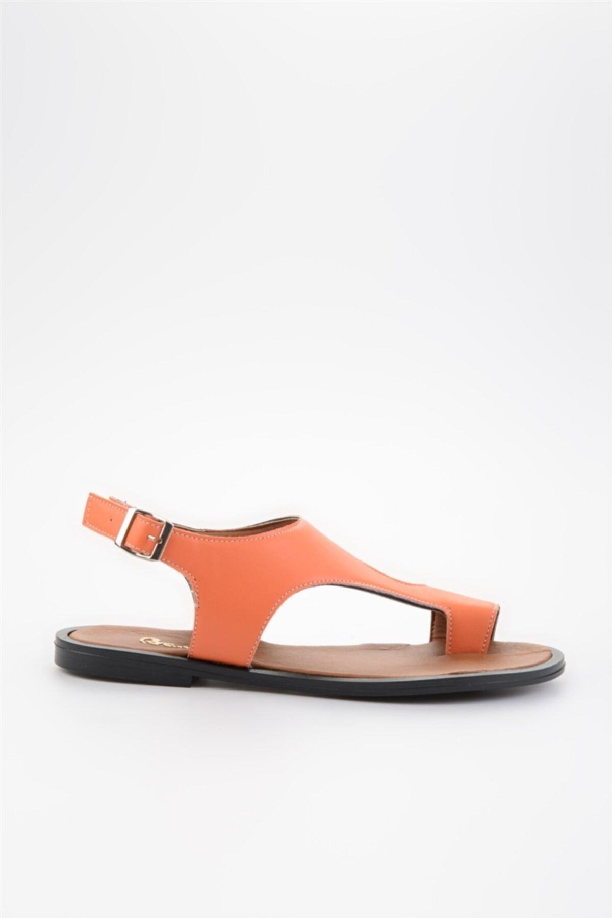 Bambi Turuncu Kadın Sandalet L0835121009 1