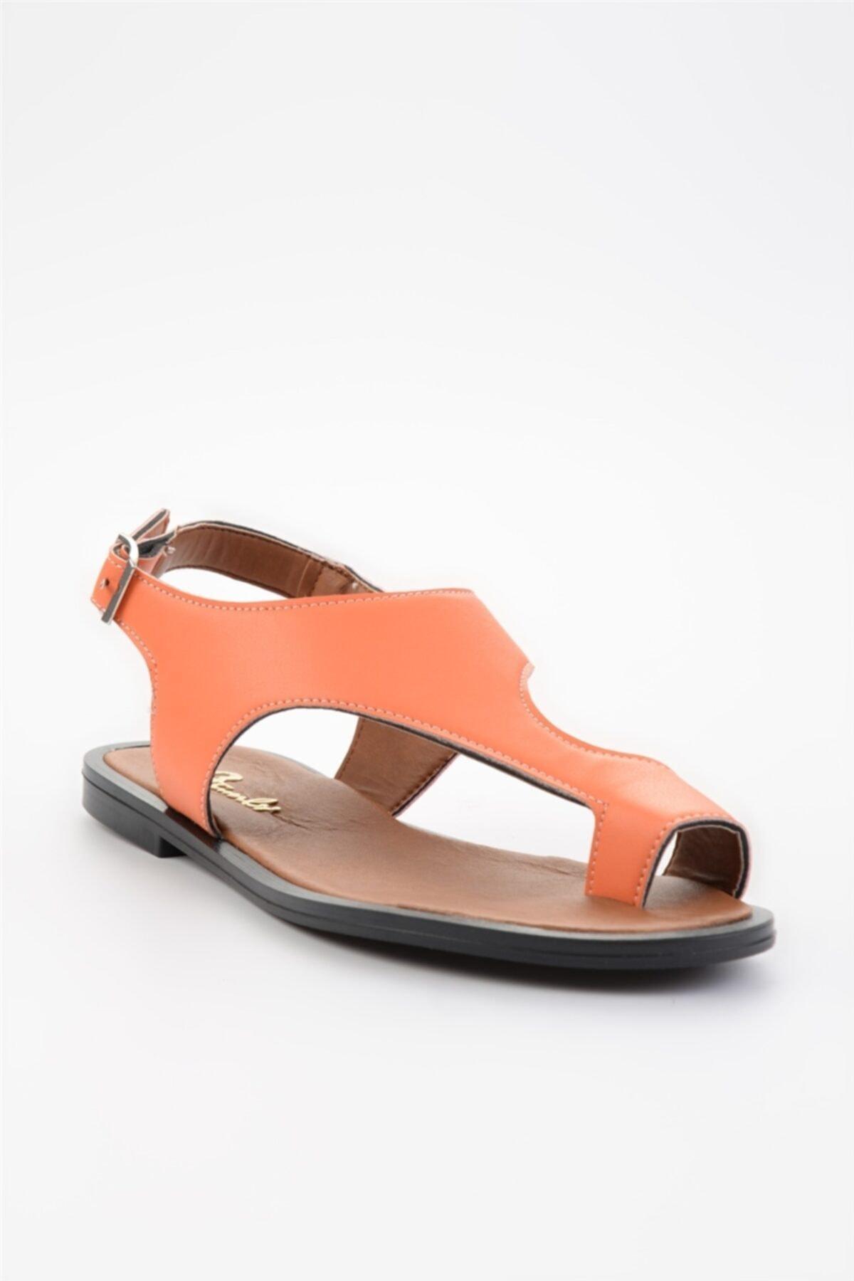 Bambi Turuncu Kadın Sandalet L0835121009 2