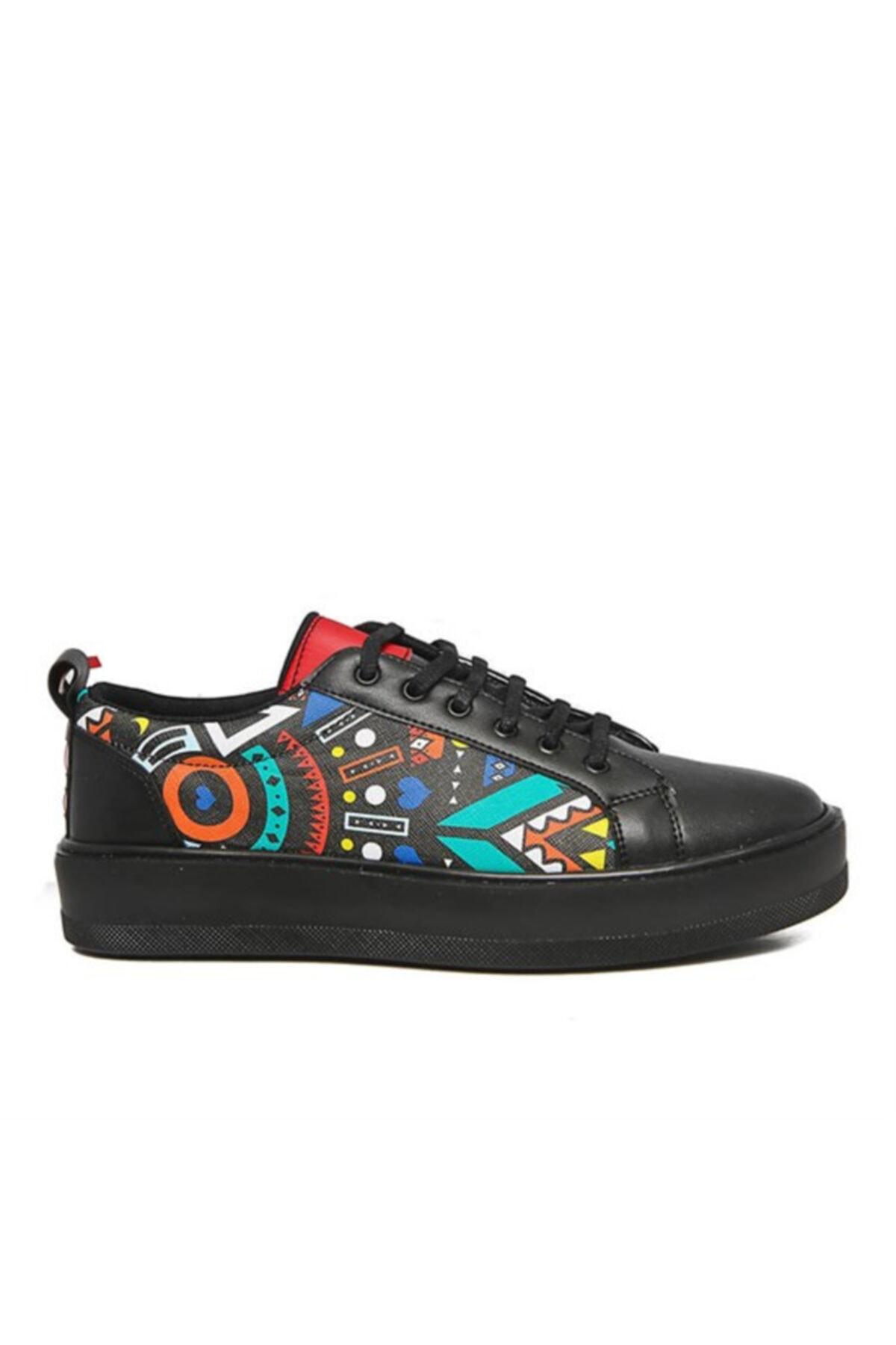 Atlanta Renkli Desen Casual Erkek Ayakkabı 2