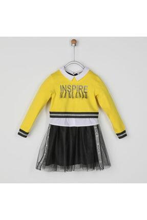 Panço Kız Çocuk Elbise 2021gk26048