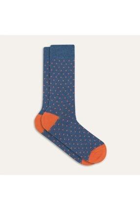 Mudo Puantiyeli Pamuklu Çorap