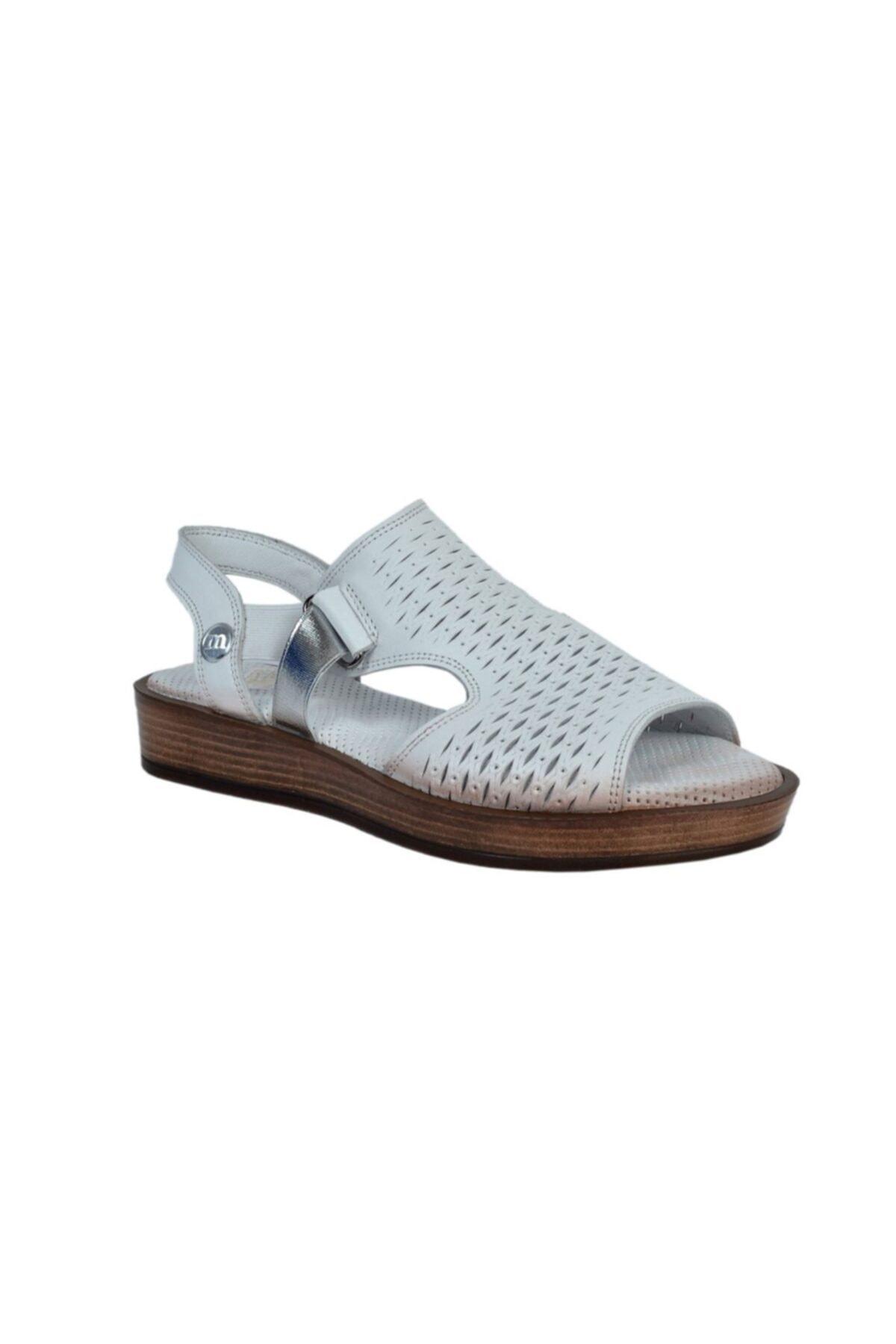 Mammamia Kadın Deri Sandalet 1645 2