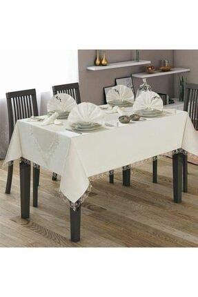 Çapa Home Yemek Masası Takımı 26pcs Fransız Eko Krem