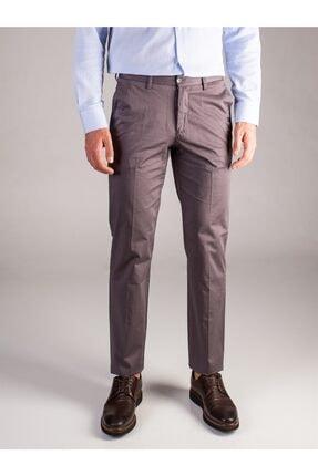 Dufy Füme Düz Erkek Pantolon - Regular Fıt