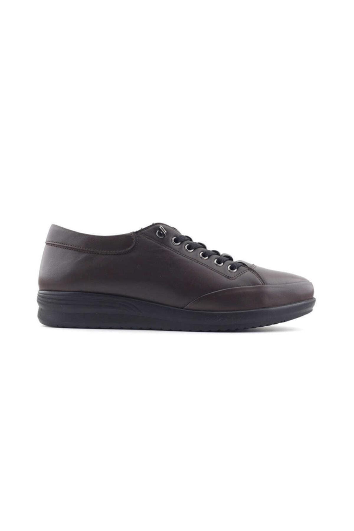 Kayra 05 Hakiki Deri Kadın Günlük Ayakkabı-kahverengi 1