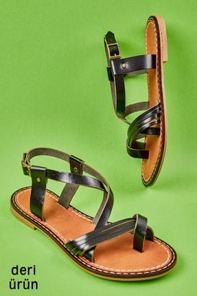 Bambi Sıyah Kadın Sandalet L0602999903
