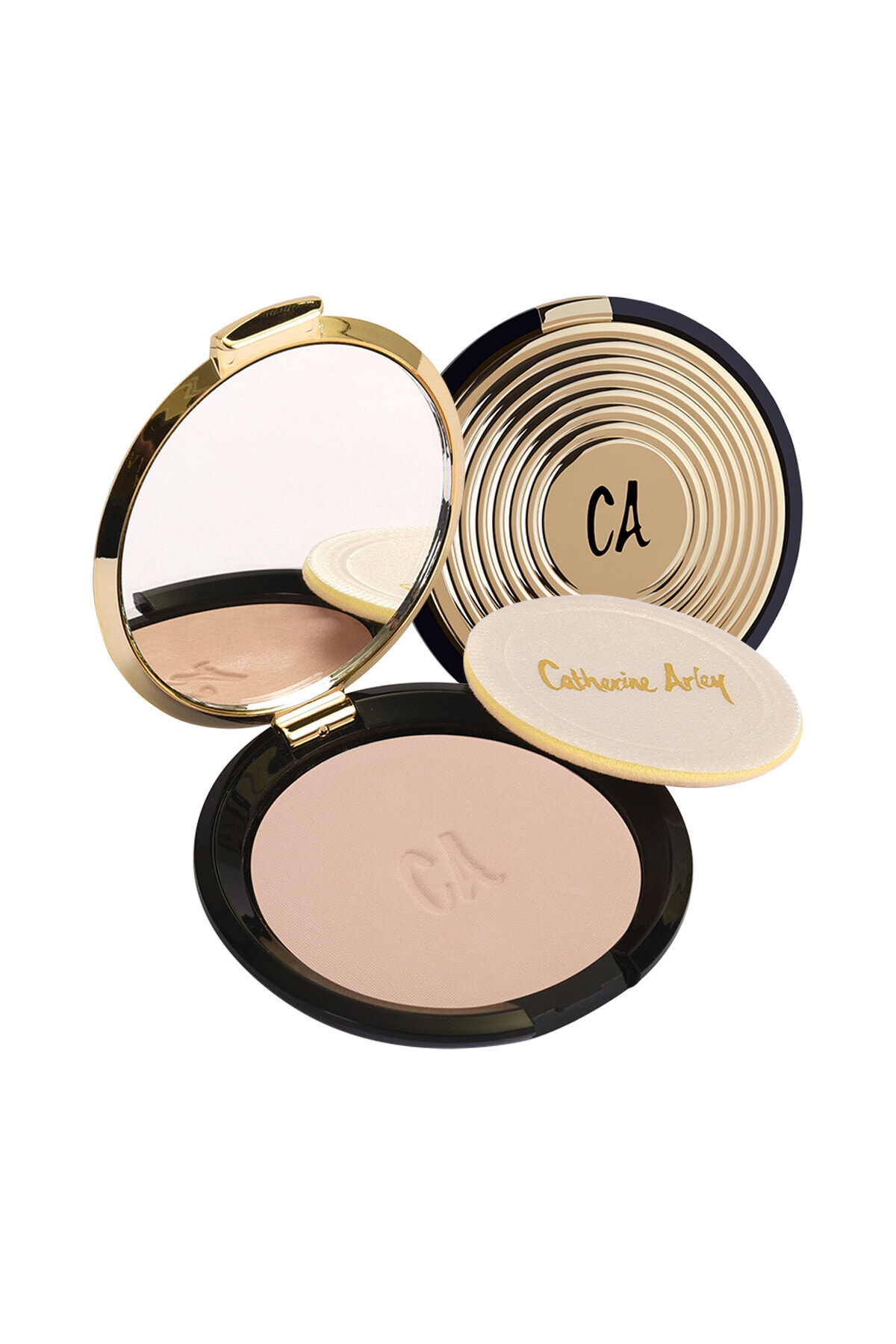 Catherine Arley Gold Compact Powder (Gold Pudra) - 101 - 1