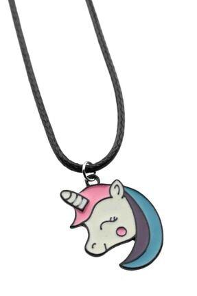 Cadının Dükkanı Minik Ebatlı Unicorn Çocuk-genç Kolye