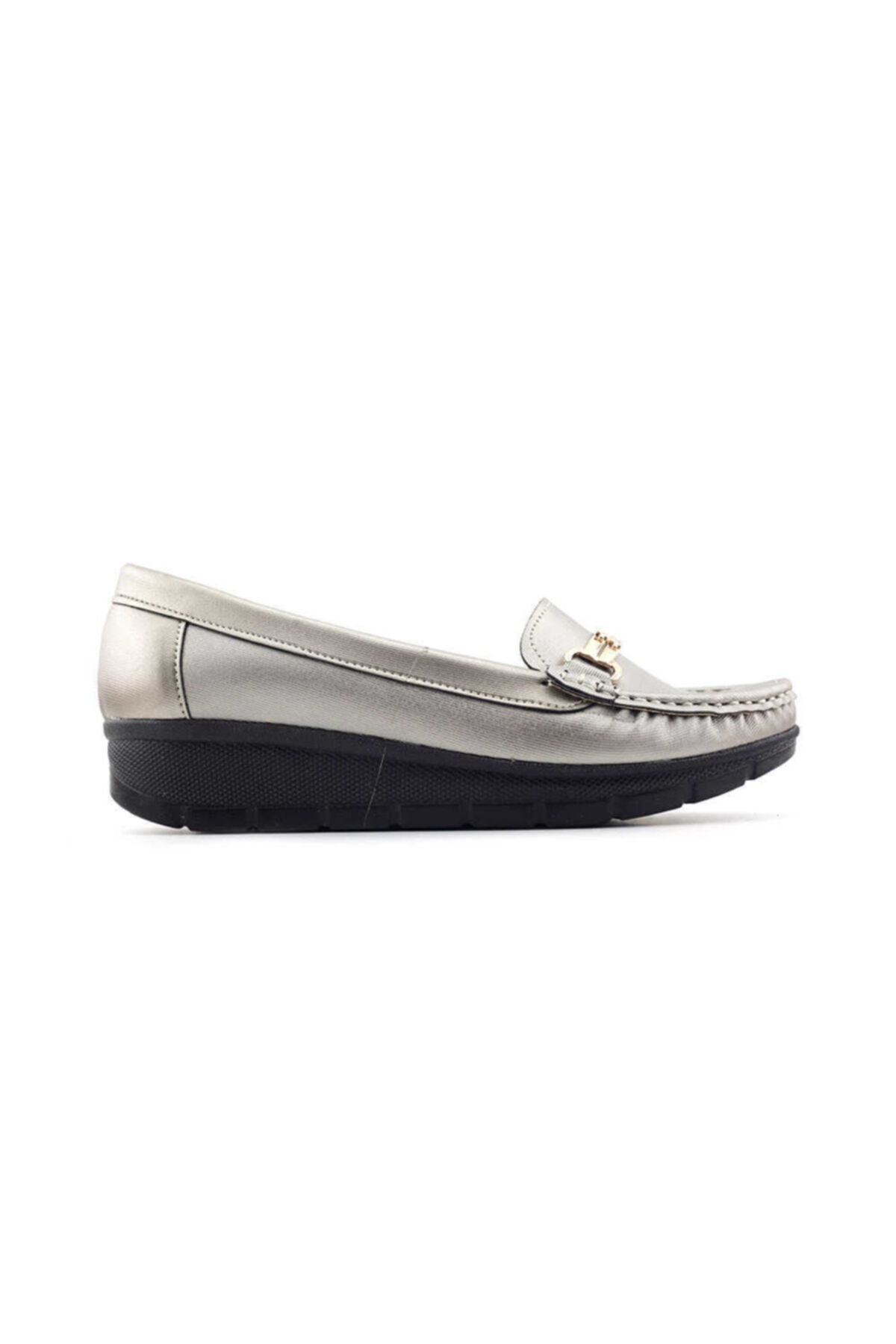 PUNTO 572107 Kadın Günlük Ayakkabı-platin 1