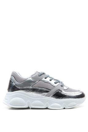 Bulldozer 201956 Gumus Kadın Sneakers Ayakkabı