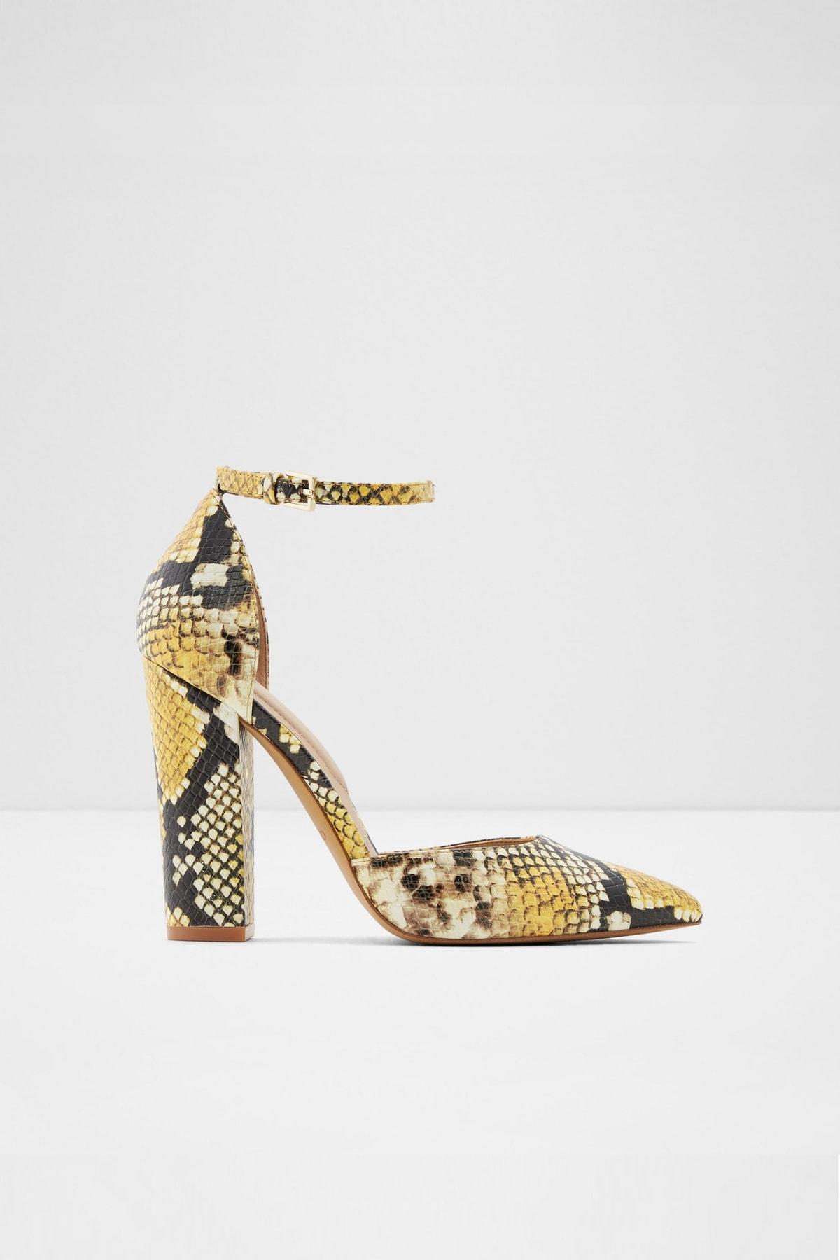 Aldo Nıcholes - Sarı Kadın Topuklu Ayakkabı 1