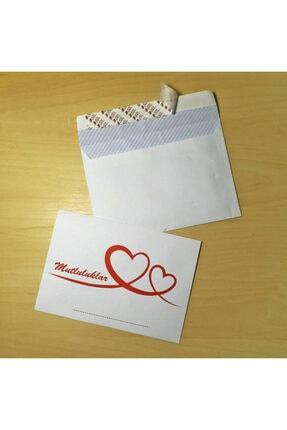 doğan zarf Düğün Takı Zarfı 100'lü - Kendinden Yapışkanlı Silikonlu 1.hamur 80 Gr (11,4x16,2 Cm Mektup Zarfı)