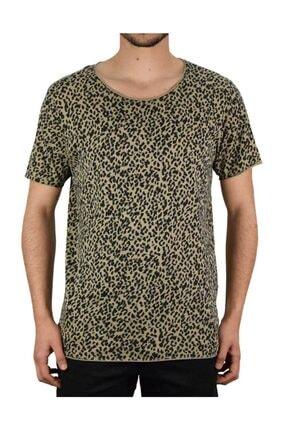 Jack & Jones Jack Jones Leox Tee Ss Crew Neck Blk Erkek Kahverengi Tshirt 12168219-15