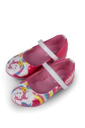 UNICORN Kız Çocuk Pembe Babet Ayakkabı