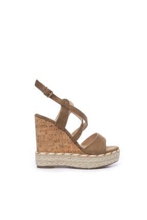 KEMAL TANCA Kadın Vegan Sandalet Sandalet 575 Y1632 Bn Sndlt