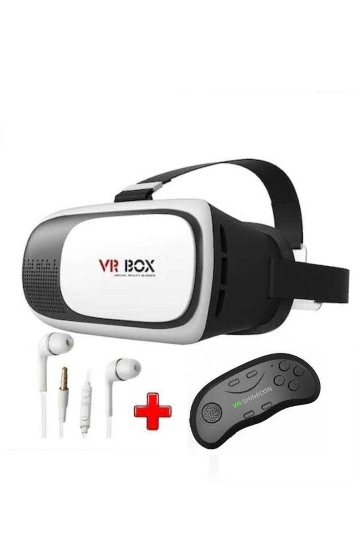 VR BOX 3d 3in1 Sanal Gerçeklik Gözlüğü Seti Vrst2 1