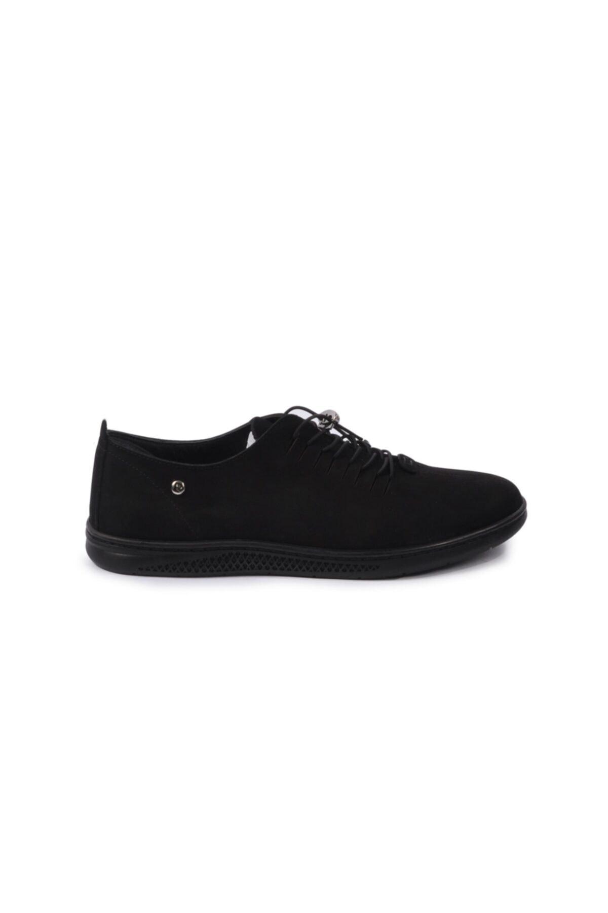 Pierre Cardin Siyah-nubuk Erkek Hakiki Deri Ayakkabı 2