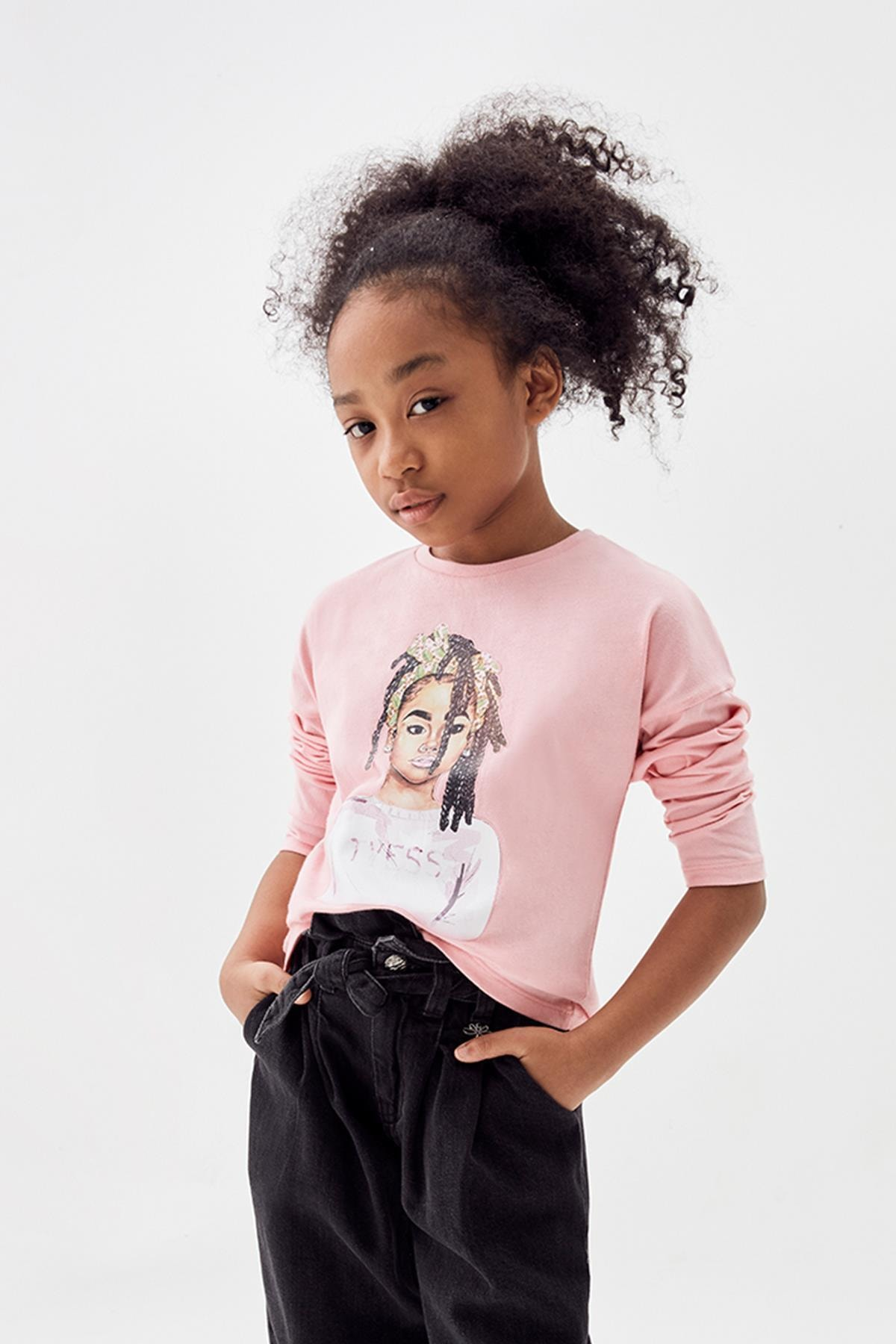 Tyess Kız Çocuk Pembe T-shirt 20fw0tj4505 1