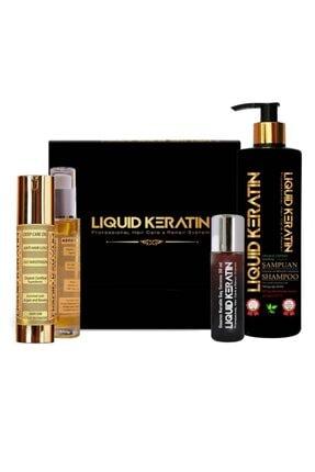 Liquid Keratin Ince Telli Saçlar Için Keratin Bakım Seti
