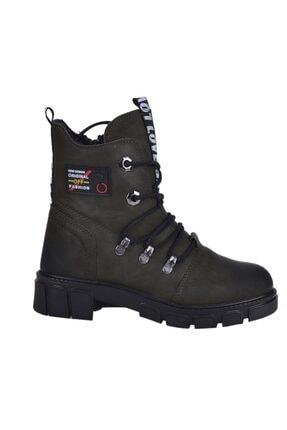 Twingo 7015 Haki Kışlık Bayan Bot Ayakkabı