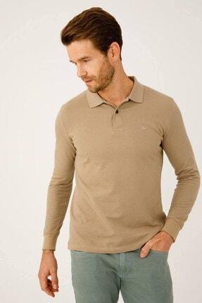 İgs Erkek Taş Standart Polo Yaka Sweatshirt