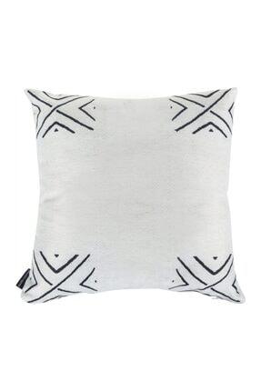 Mudo Concept Etnık Kırlent Beyaz 45x45cm