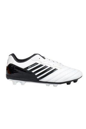 MP 202-1511 Beyaz Kraon Çim Erkek Çocuk Futbol Ayakkabı