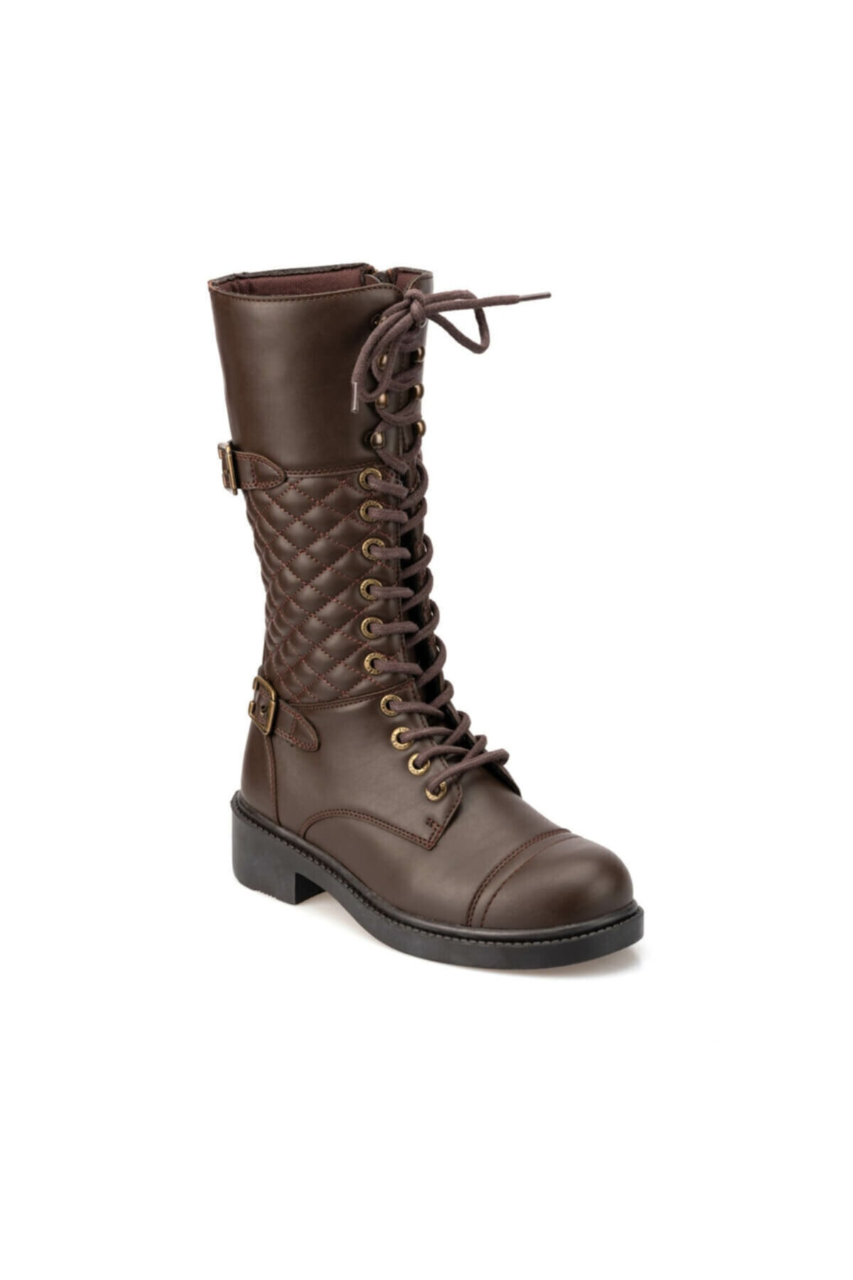 Kinetix JANNA 9PR Kahverengi Kadın Çizme 100419120 1