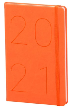Matt Notebook 2021 Günlük Ajanda Turuncu