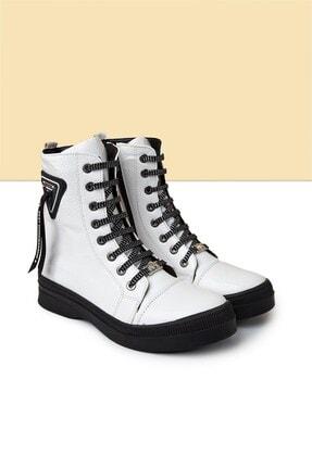 Pierre Cardin PC-50727 Beyaz Kadın Ayakkabı
