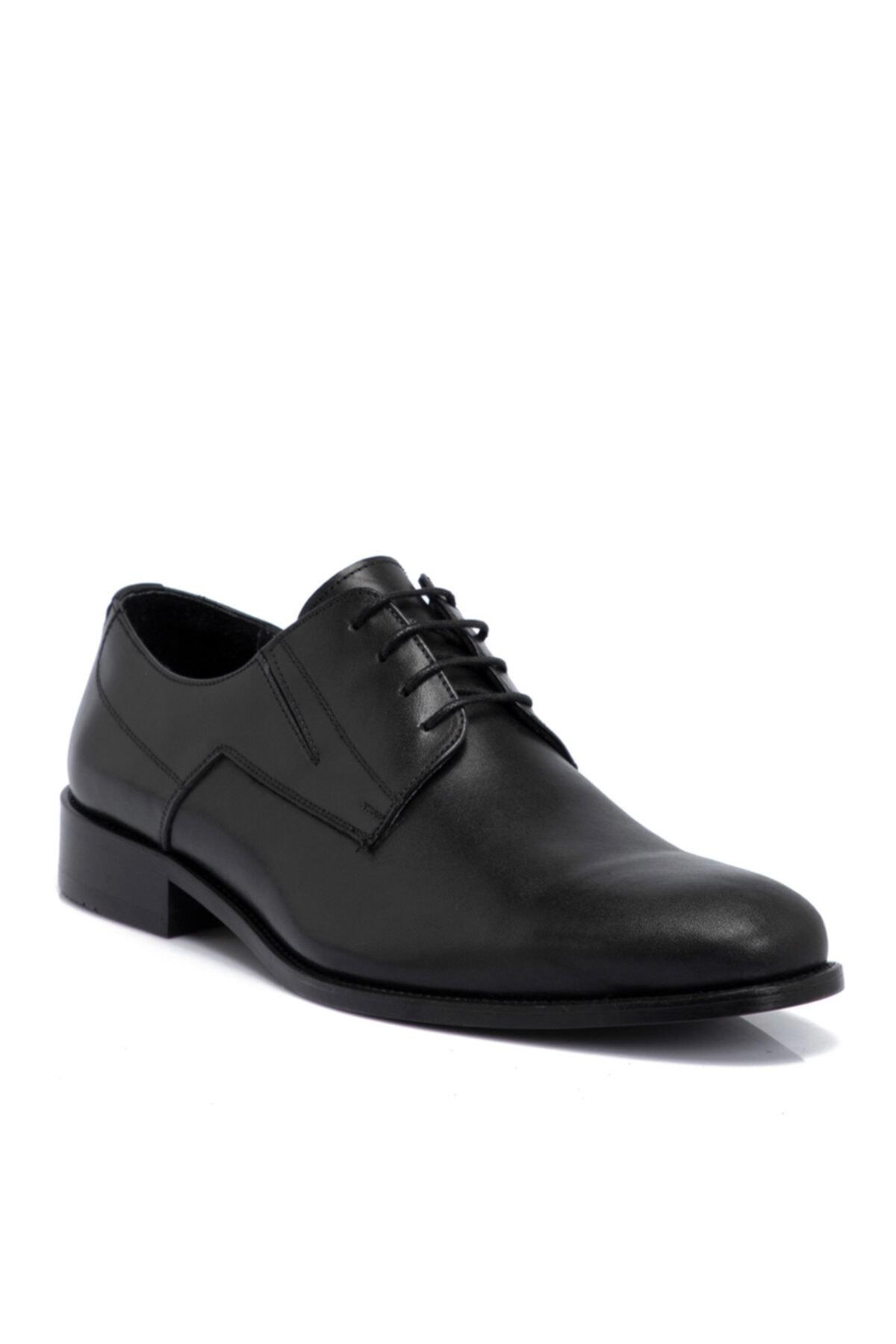 Tergan Siyah Deri Erkek Ayakkabı 54330a43 1