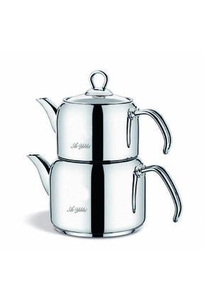 Aryıldız Çelik Sap Çaydanlık Takım