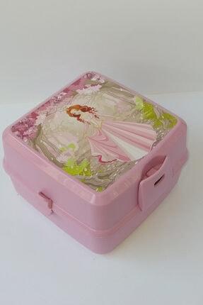 HOBBY LİFE Premium Resimli Beslenme Kutusu Pembe Prenses