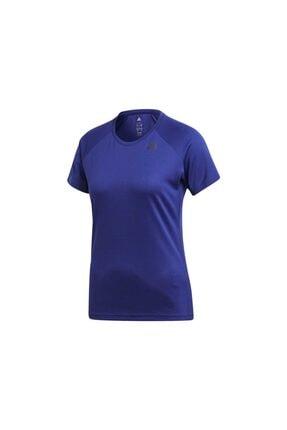 adidas Kadın Tişörtü Mor D2m Tee Lose Cf4534