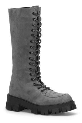 DARK SEER Füme Kadın Çizme