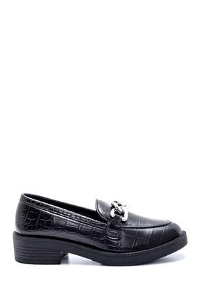 Derimod Kadın Kroko Desenli Loafer