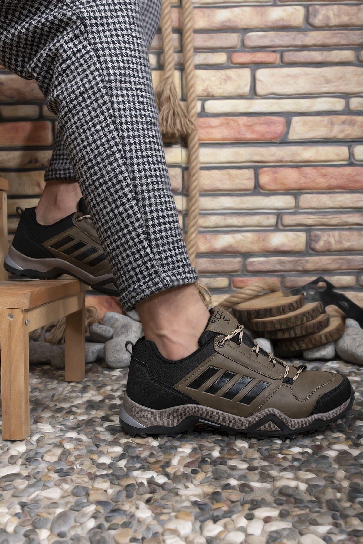 Riccon Vizon Siyah Erkek Trekking Ayakkabı 0012189 2