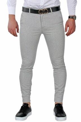 Terapi Men Erkek Gri Keten Pantolon - 7Y-2200068