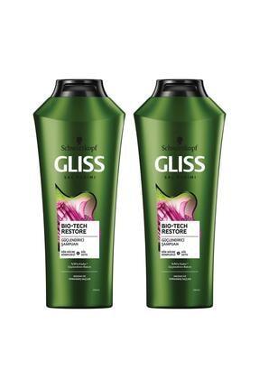 Gliss Bio-tech Güçlendirici Şampuan 360 ml 2'li