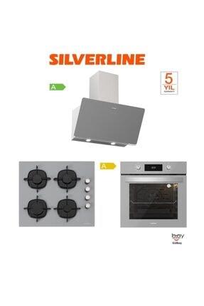 Silverline Ankastre Set( Bo6504s01-3457 Soho-cs5335s01)