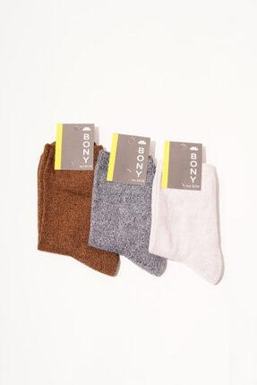 Katia&Bony 3 Lü Paket Uppsala Kadın Soket Çorap - Mix