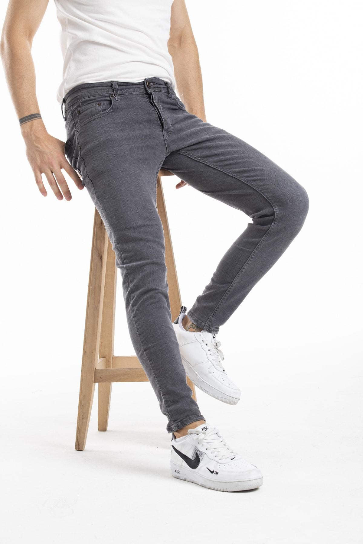 MODAMESTO Skinny Fit Likralı Kot Pantolon 1