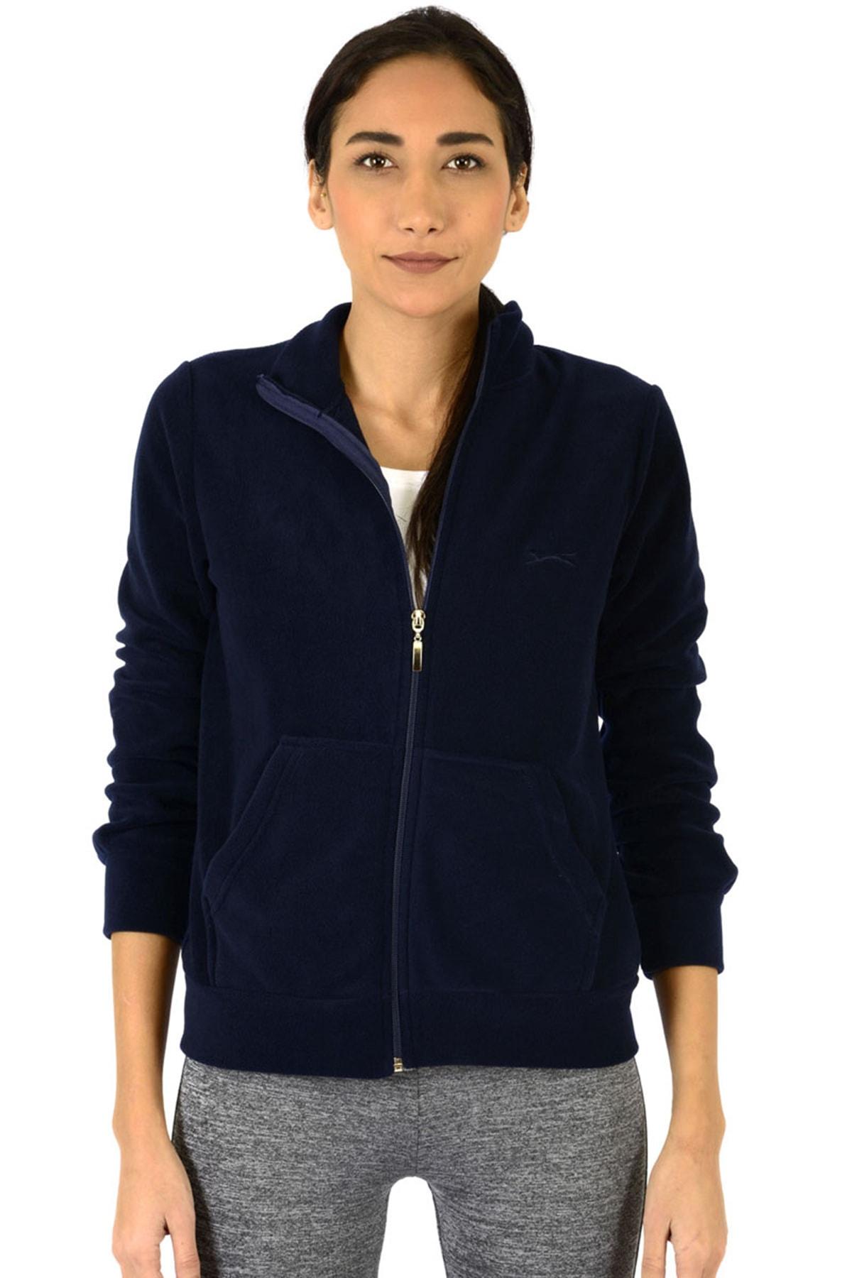 Slazenger Soul I Kadın Sweatshirt Lacivert 1