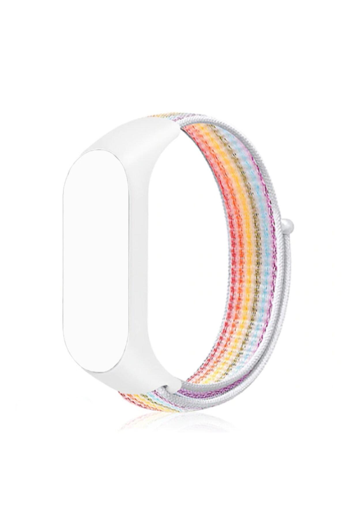 zore Xiaomi Mi Band 2 Kordon Hasır Örgü Plastik Krd-03 1