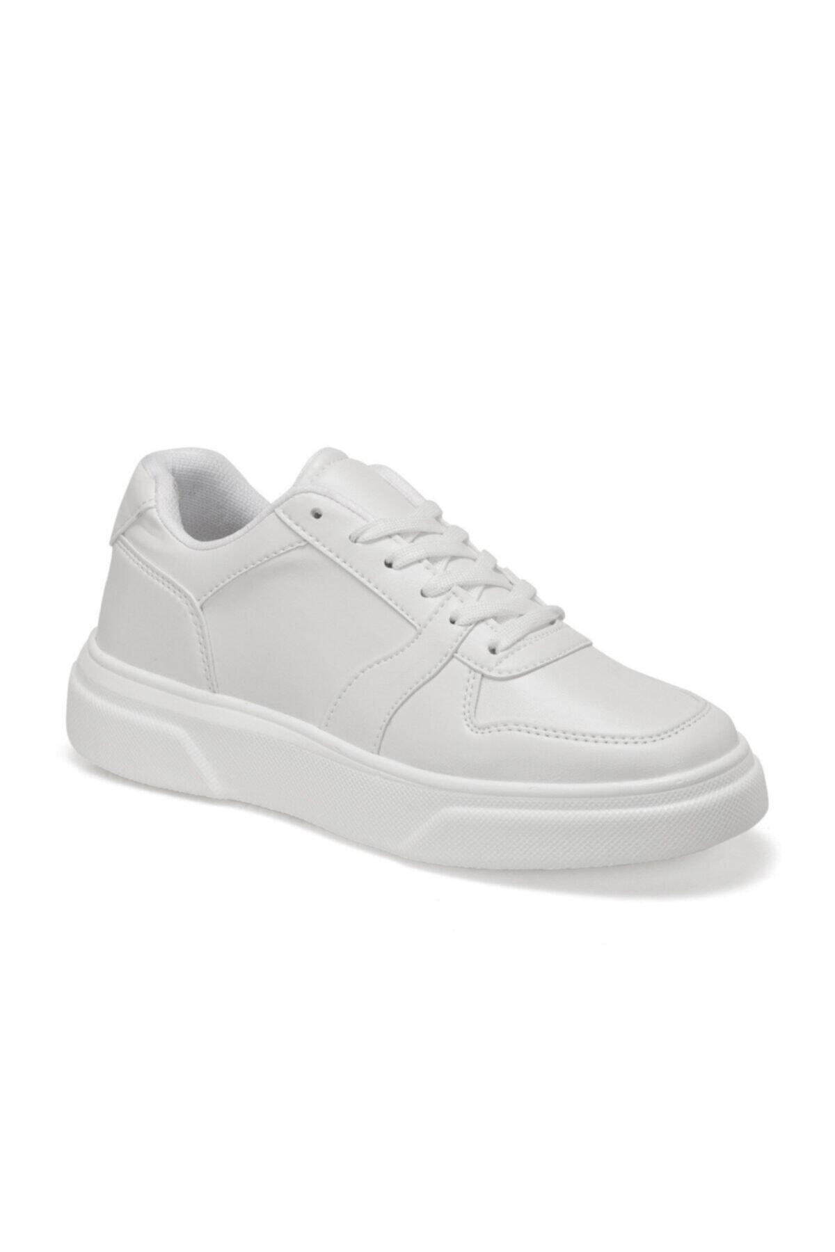 Torex ENZO Beyaz Erkek Kalın Taban Sneaker Spor Ayakkabı 100577270 1
