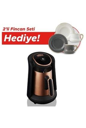 Arzum Okka Minio Pro Ok0010 Bakır Türk Kahve Makinesi Hediyeli