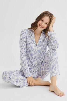 Penti Çok Renkli Blue Blossom Pijama Takımı