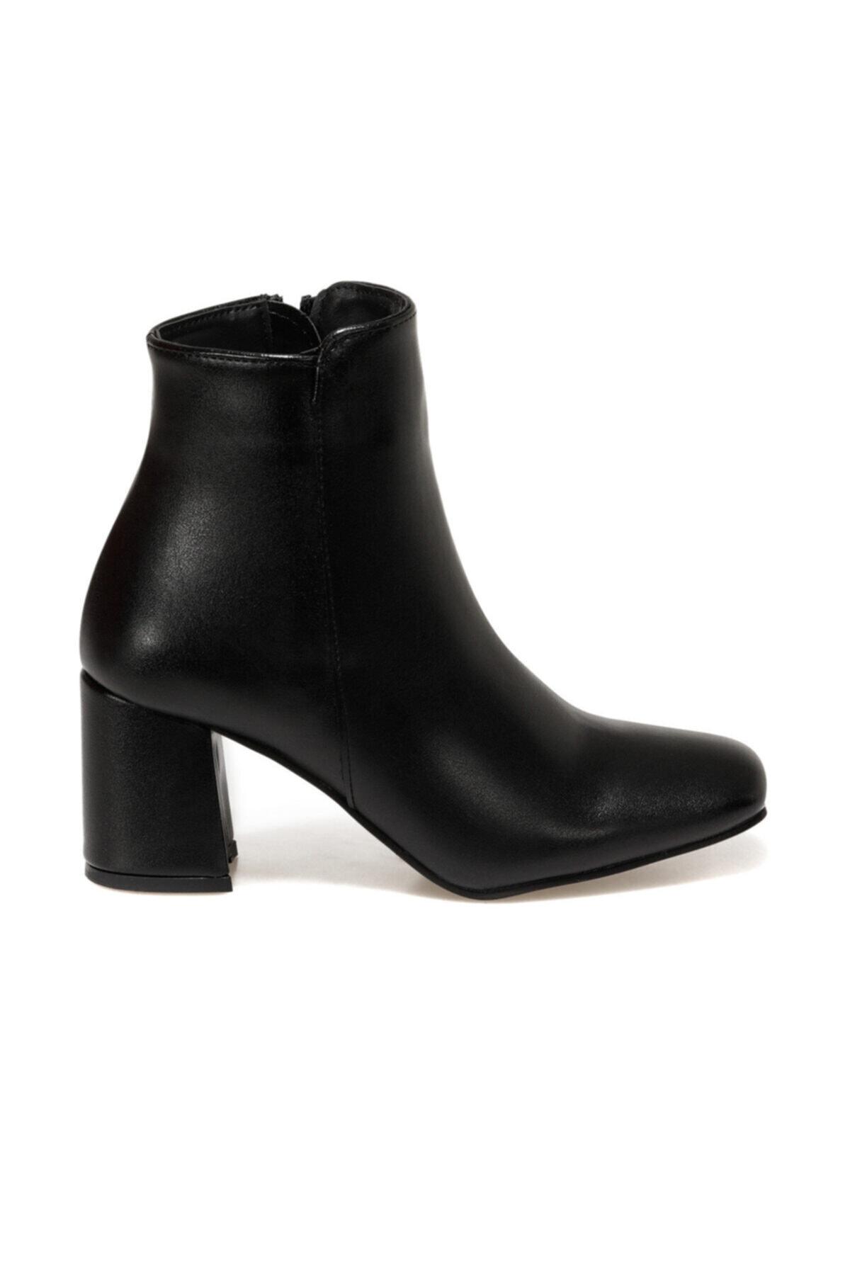 Butigo 20K-910 Siyah Kadın Topuklu Bot 100584632 1