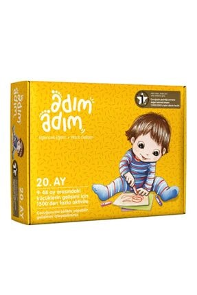 Adım Adım Yayınları Adım Adım Bebek Eğitim Seti 20.ay